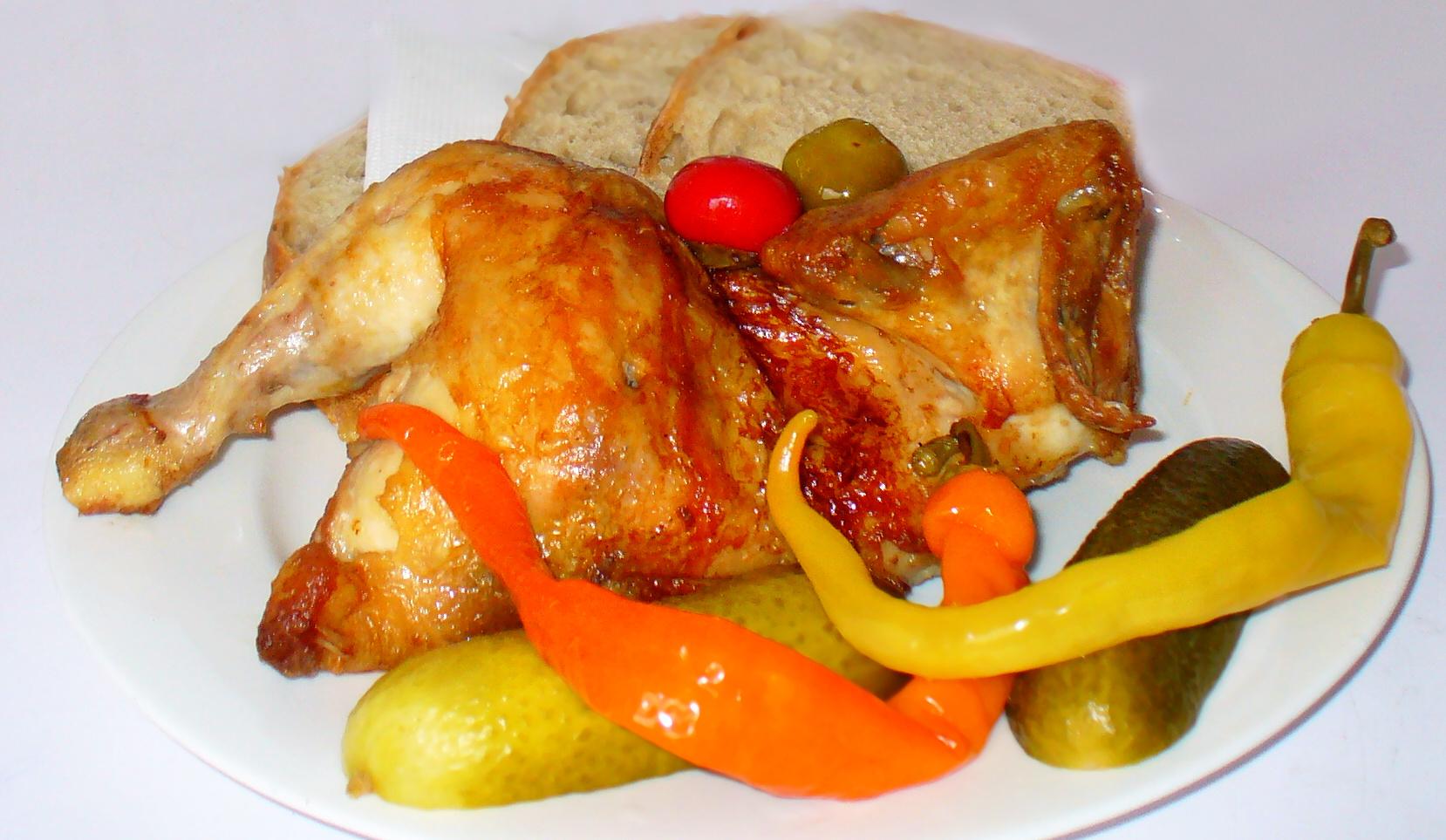 grilovane kura prievidza jedlo dieta