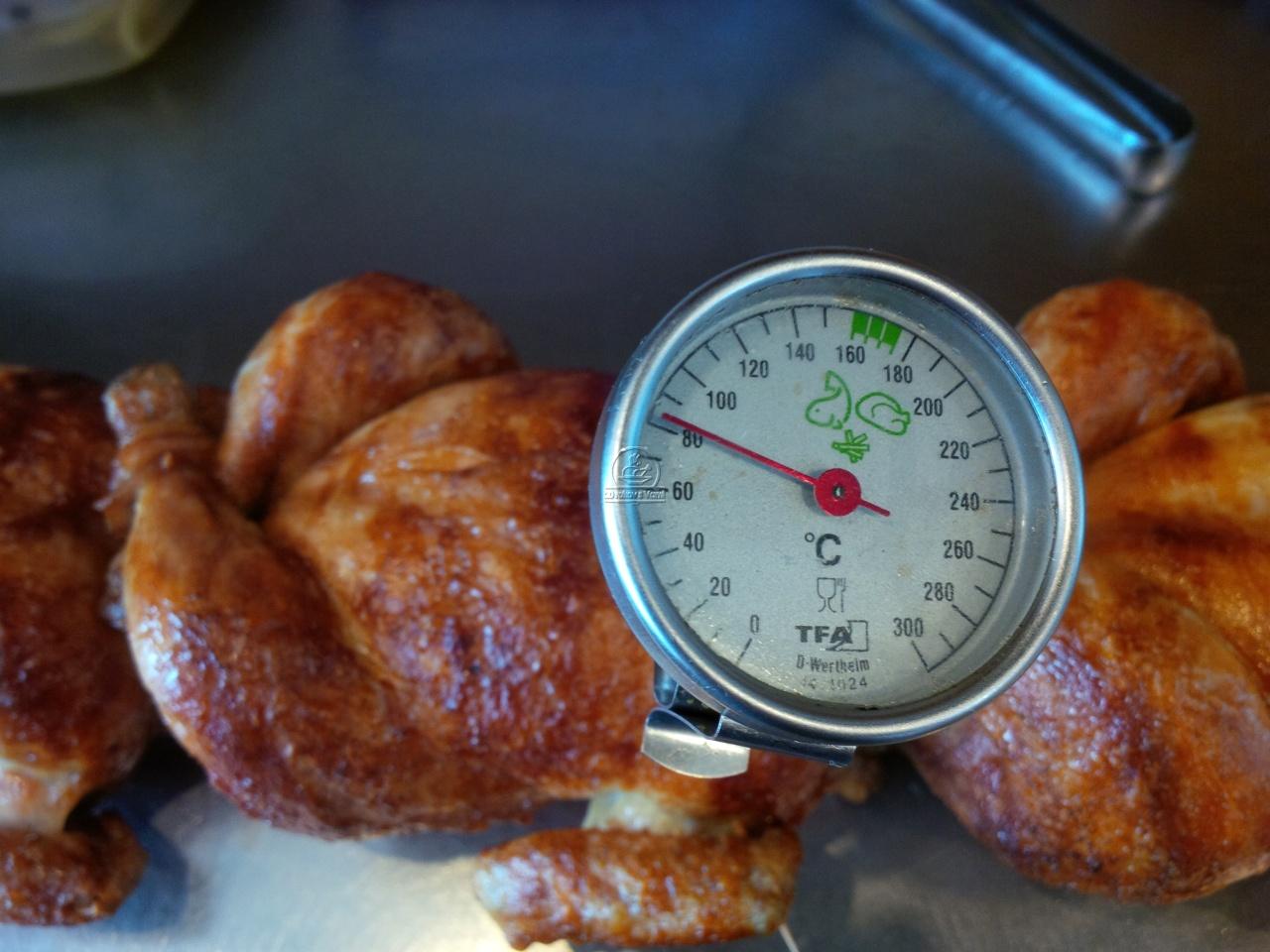 grilovane kura prievidza meranie teploty masa vpichovy teplomer vtacia chripka